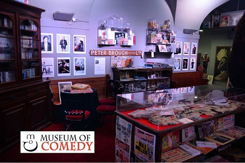 See us at the Museum of Comedy