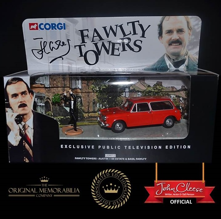 Fawtly Towers Corgi Car