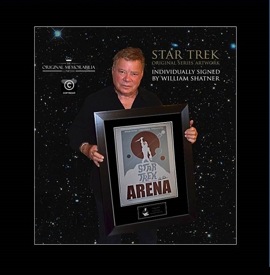 Star Trek Arena Signed