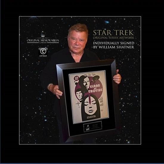 Star Trek Elaan of Troyius signed